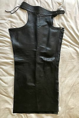 RoB Leather Chaps Mens Bluf