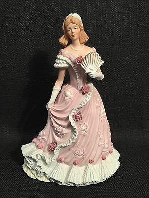 """Wedgwood Spink """"The Coronation Ball"""" 1838 Limited Edition Figurine"""