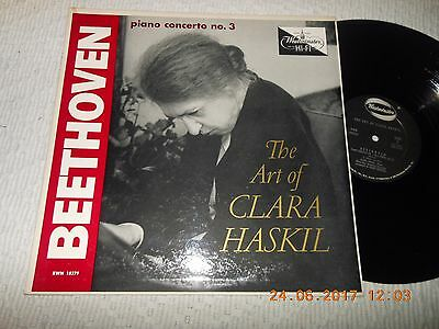 "12"" Beethoven The Art Of Clara Haskil"