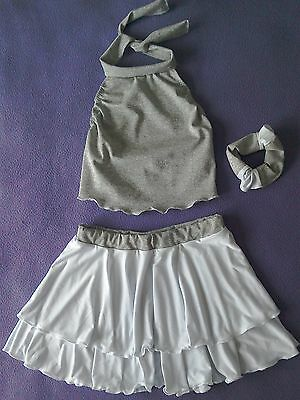 Girls two piece modern/tap/jazz dance costume size 3a