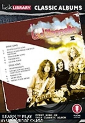 LICK LIBRARY Learn to Play LED ZEPPELIN 2 II ll CLASSIC ALBUMS LESSON Guitar DVD