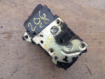 Peugeot 206cc DRIVER SIDE FRONT DOOR LOCK 2001-07 offside right catch 206 cc