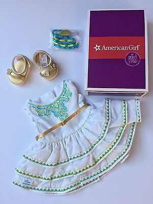 "AMERICAN GIRL 18"" OUTFIT Lea's Celebration Dress Shoes for Doll - NEW IN BOX NIB"