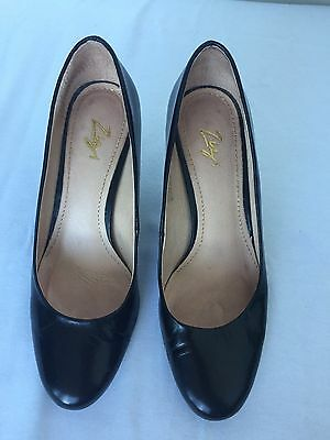 Women's Florsheim 'Zizi' Black Leather Heels, Size 38