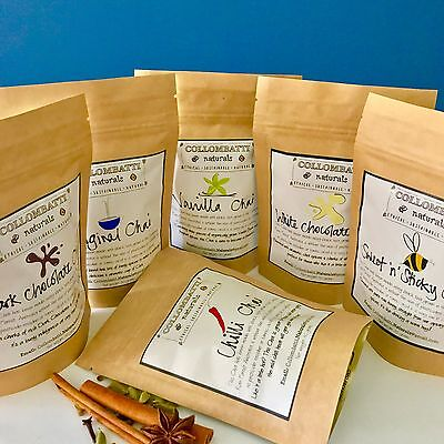 Chai 2 Pack - Pick any two - Australian Black Loose Leaf Tea - Perfect Gift!