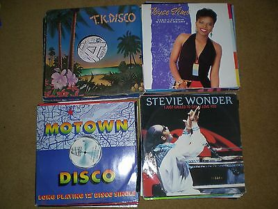 """Job Lot 35 Named Soul,r&b And Dance Vinyl 12""""  Singles Collection"""