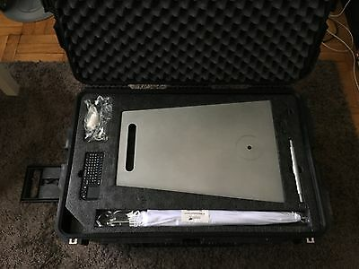 Used PBSCO Open-Air Photo Booth (Includes 2 Carrying Cases & Printer)