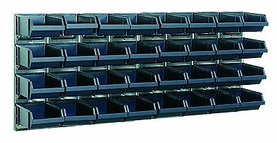 Raaco Bin Wall Panel With 32 Bins
