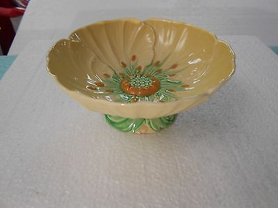 Carlton Ware Yellow Buttercup Dish with Stand