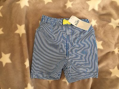 Baby Marks spencer New M&S 6-9 months Stripe Blue Swimming Shorts Pants