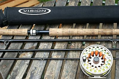 Vision 3ZONE 15' Salmon Rod with Vision Koma Reel and Line