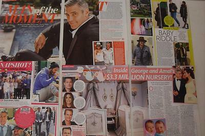 10-GEORGE CLOONEY*Magazine Clippings