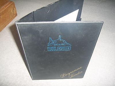 HULL SHARKS Programme Binder - Never Used