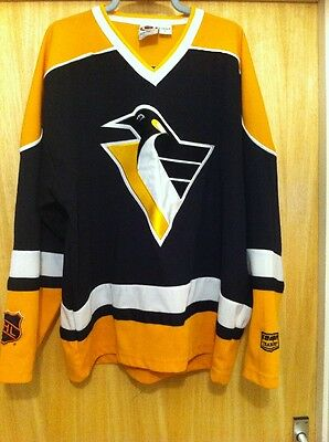 NHL Pittsburgh Penguins Ice Hockey Jersey Top Size Large