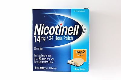 Nicotinell 24 Hour Step 2 Patch 14mg - 7 Day Supply