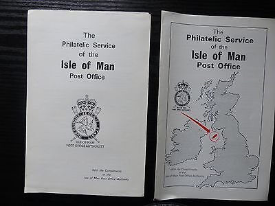 Isle of Man Post Office Authority early Newsletters