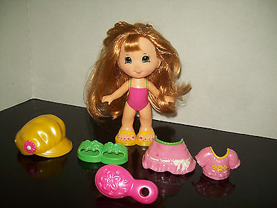 Fisher Price Snap 'N Style Keri Doll Yellow Shoes Party Outfit Accessories