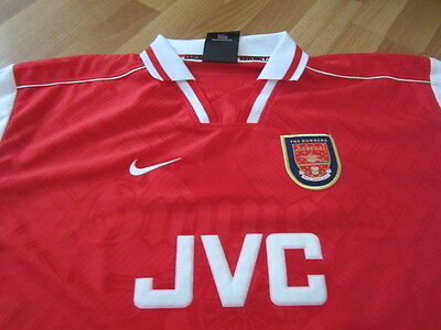 Arsenal London match worn Shirt Trikot Hartson 25.09.1996 Uefa Cup Gladbach