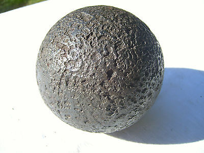 METAL CANNON BALL 16-19ct . Very Rare