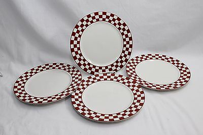 "Home Trends Farm Fresh Dinner Plates 10.5"" Set of 4"