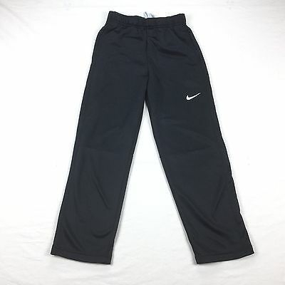 Nike Therma-Fit Youth Athletic Pants Black Elastic Waist - No Size Tag