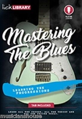 LICK LIBRARY LEARN TO PLAY MASTERING THE BLUES Lesson GUITAR DVD PART ONE LICKS