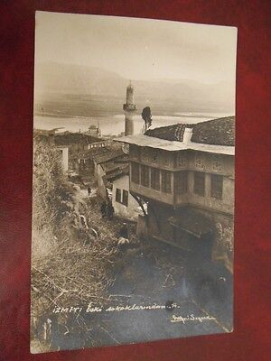 Turkey-Izmit.old Street.wiew.carte Postale.