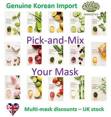 Innisfree Its Real Squeeze - Korean Facial Sheet Mask - UK