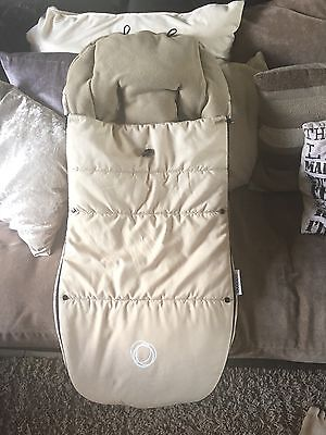 Bugaboo Universal Toggle Footmuff Sand Cream Cosy Toes