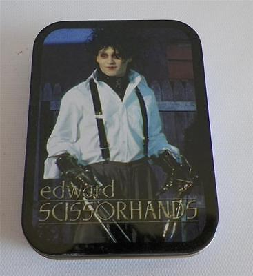 Edward Scissorhands 54 Playing Card Deck in Tin Tim Burton