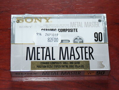 SONY METAL MASTER MTL-MST-90c cassette vierge sealed