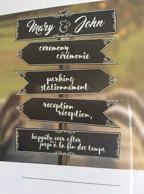 Chalk Board signs Wedding, Party or home decoration