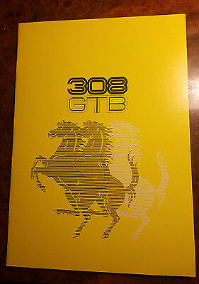 Ferrari 1976 308 GTB Debut Sales Brochure Prospekt European Version # 120/76