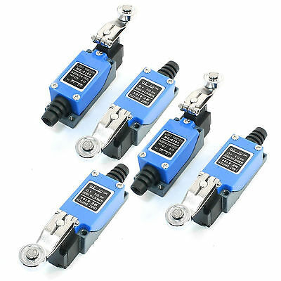 5PCS ME-8108 Momentary SPDT Rotary Metal Roller Lever Arm Limit Switch