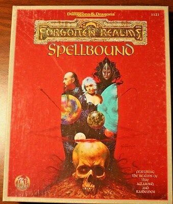 AD&D Forgotten Realms Campaign Expansion Spellbound Box Set 1121