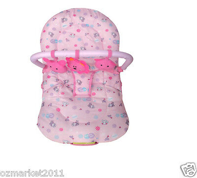 Fashion Pink Security Baby Music Vibration Swing Chair/Rocking Chair YB
