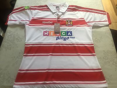 Wigan Warriors Home Shirt 2009 New With Tags