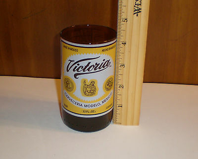 """Cerveceria Modelo """"Victoria"""" Beer Glass-Mexican Brewery-Holds 12floz Rare Find!"""
