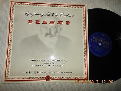 "12"" Brahms Symphony No 4 In E Minor  Karajan"