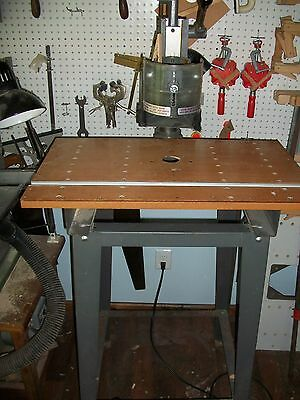 ShopSmith Router Table and Over-arm Pin Router