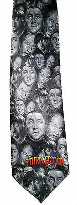 "Three stooges tie. ""Lots O' Heads"""