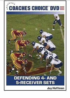 Football Coaching DVD -- Defending 4 and 5 Receiver Sets -- Jay Hoffman