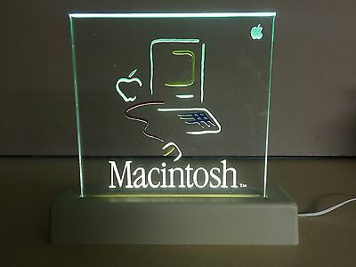 *LIMITED EDITION* 1984 Apple Macintosh Picasso Dealer Lamp Sign WORKS!