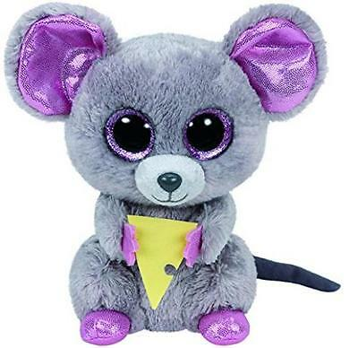 TY Beanie Boo Plush Squeaker the Mouse 15cm