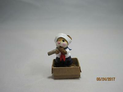 Wee Forest Folk M-315 Cabin Boy Retired 2007 - In WFF Box