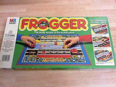 Vintage 80S Board Game Frogger Mb Games - Complete Free Post