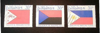 (H169) Philippines 3 stamps used & 1 MLH OG