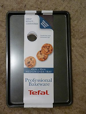 Tefal Professional Baking Sheet Oven Tray 45 Cm X 30cm Durable Non Stick