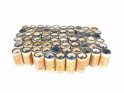 Lot of 65 Pristine Edison 4-minute Blue Amberol Cylinder Records + Boxes