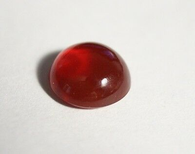 2.2ct Mexican Fire Opal - Strawberry Red Cabochon